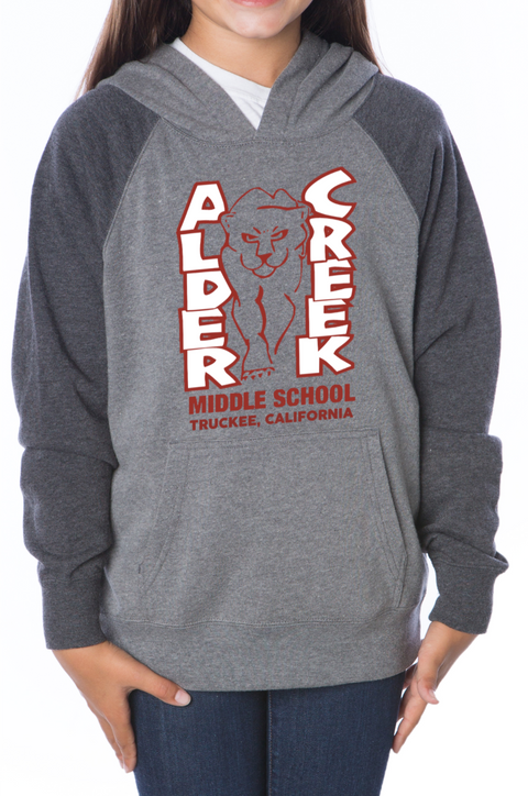 Youth Alder Creek Logo Hoody