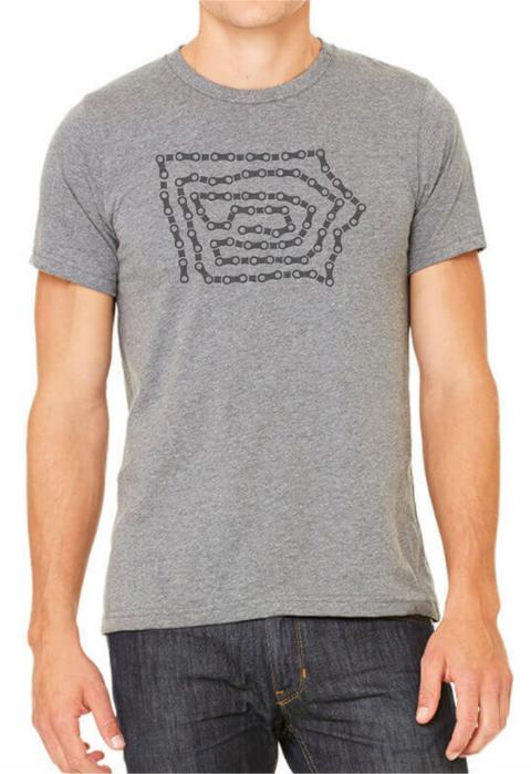 Bike Chain Iowa Tee