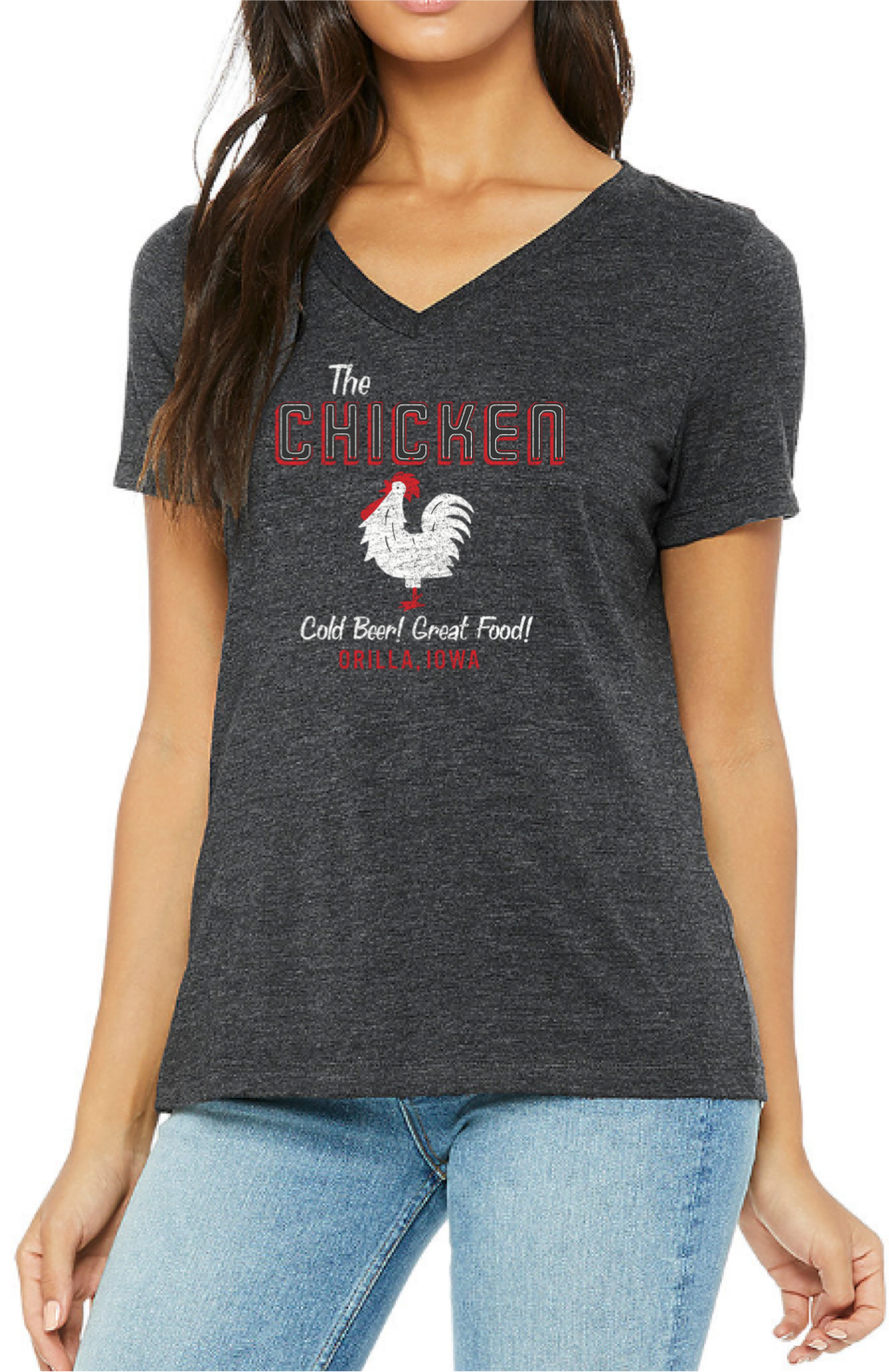 Women's The Chicken VN Tee
