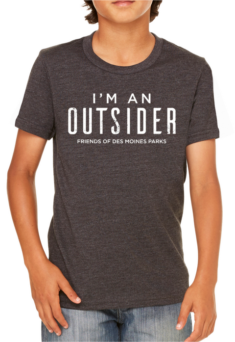 Kids 'I'm An Outsider' Tee