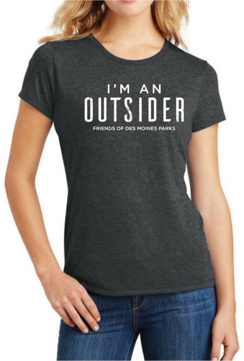 Women's 'I'm An Outsider' Tee
