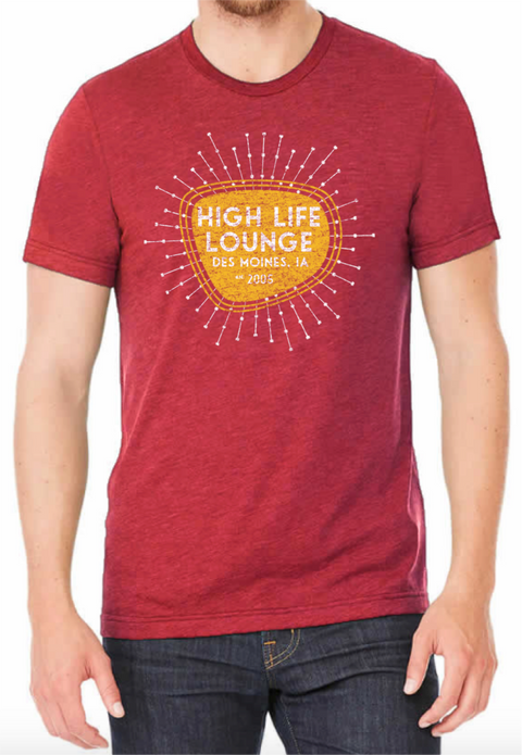 High Life Lounge Retro Tee
