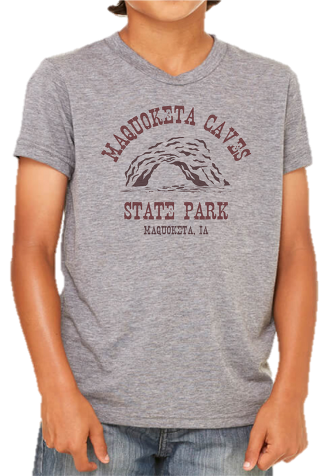 Kids Maquoketa Caves State Park Tee