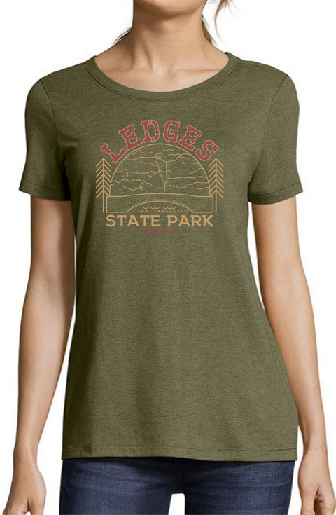 Women's Ledges State Park Tee