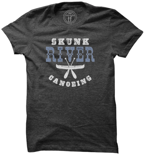 Skunk River Canoeing Tee