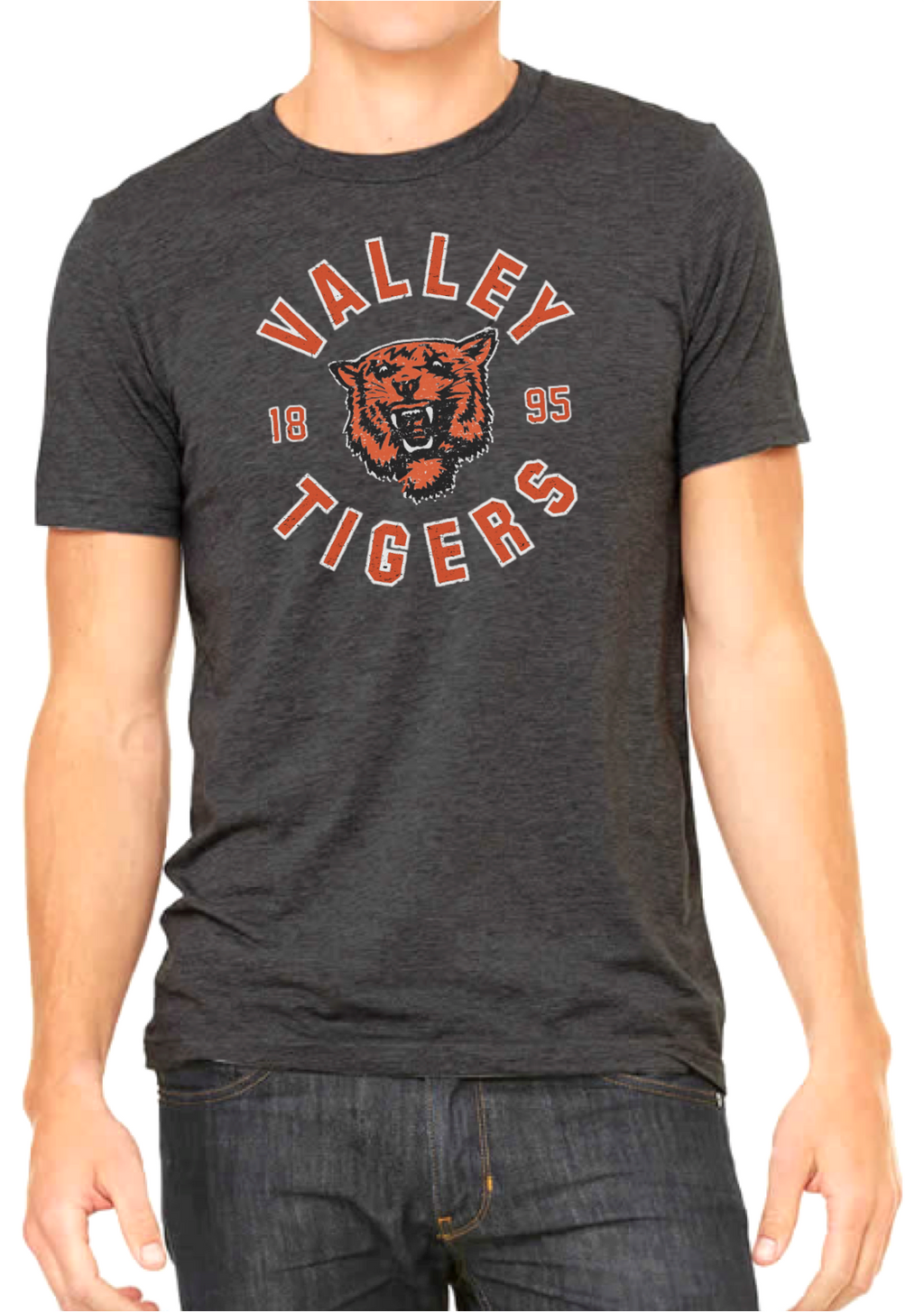 Valley Tigers '1895' Tee