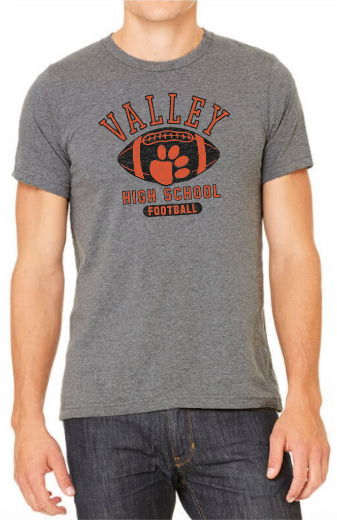 Valley Tigers Football Tee