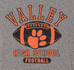 Valley Tigers Unisex Football Hoody