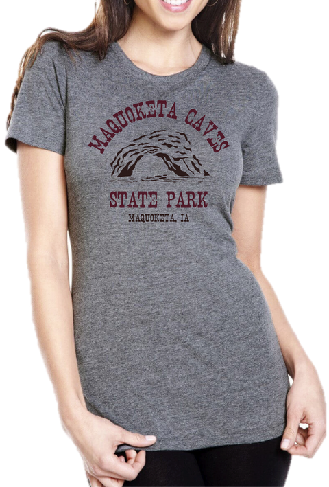 Women's Maquoketa Caves State Park Tee