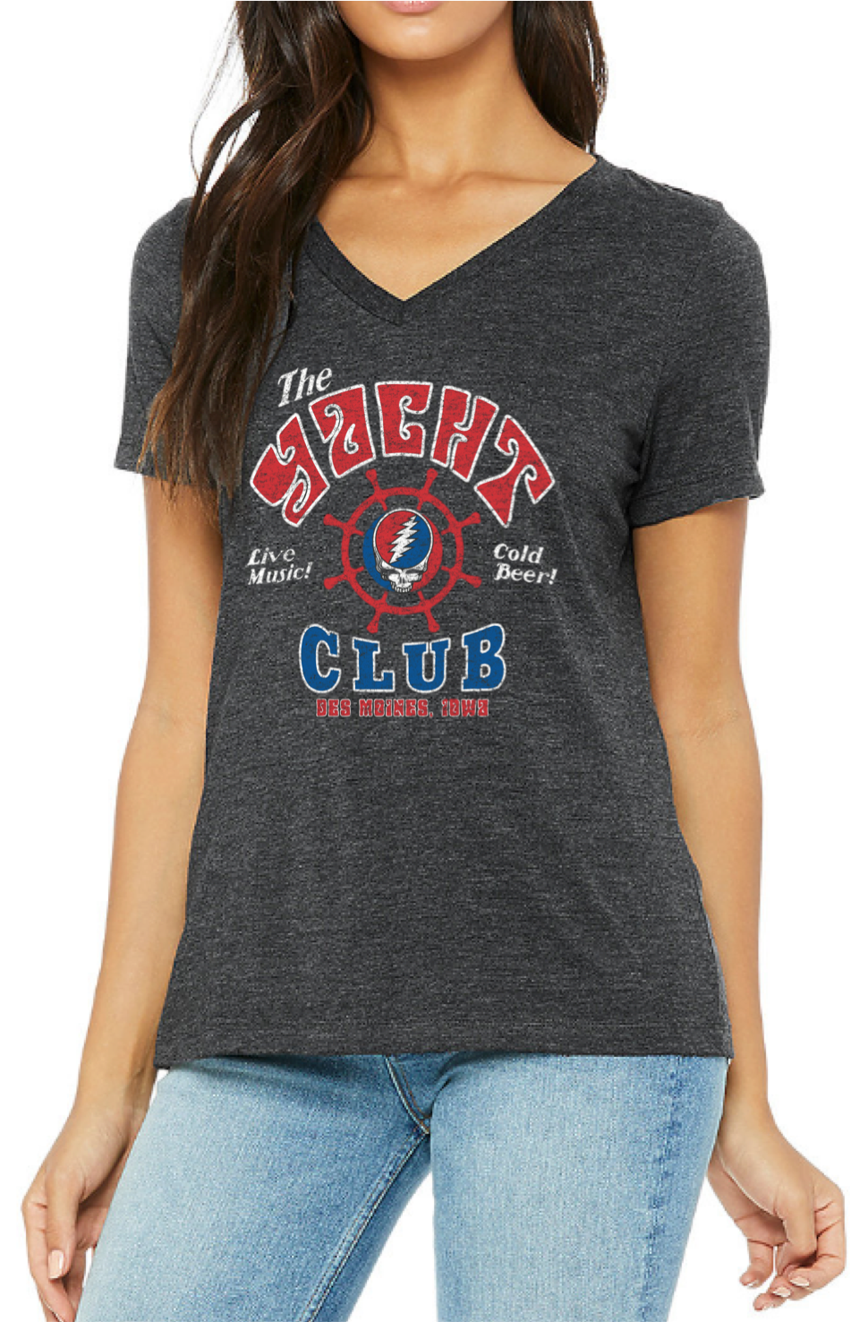 Women's Yacht Club Live Music VN Tee