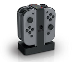 Base de carga Joy-con x4  Nintendo Switch