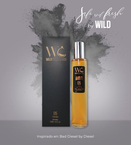 COMBO SAFE AND FRESH x5 (HOMBRE) - Wild Collection