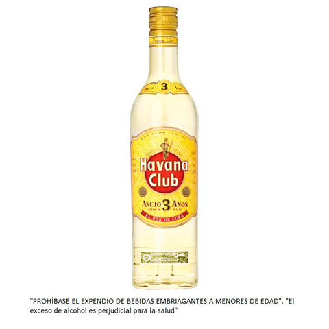 Ron Havana Club 3 Años 750 ml