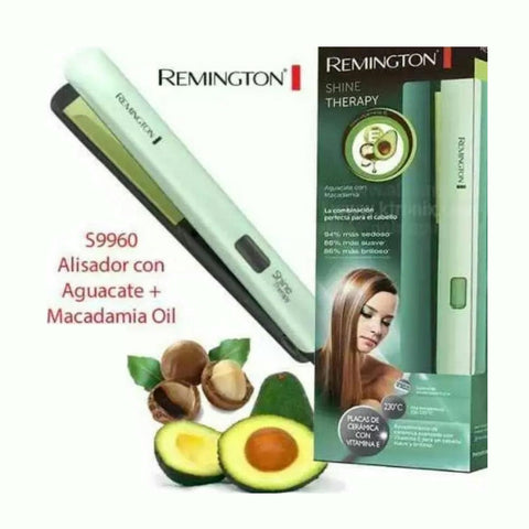 Plancha Cabello REMINGTON Macadamia S 9960