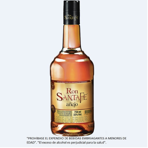 RON SANTAFE AÑEJO 750 ml