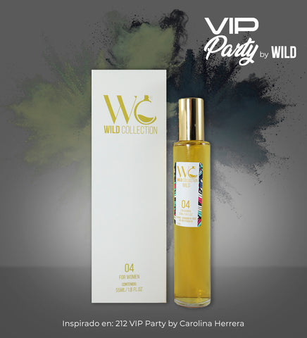 COMBO VIP PARTY x4 (MUJER) - Wild Collection
