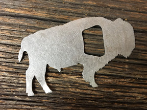 Metal Buffalo Bottle Opener