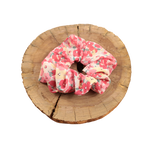 Scrunchie - Pink/Red Floral