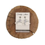 Square Cowhide Placemat 009