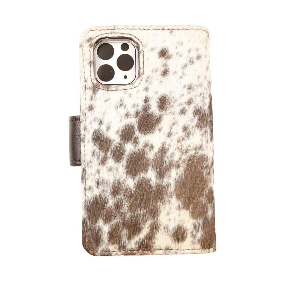 Cowhide Stubby Drink Cooler 089