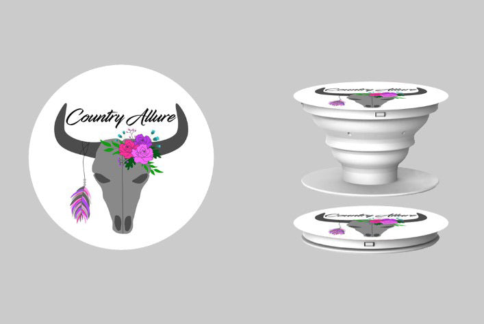Country Allure Pop Socket