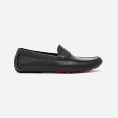 JH-76 - JAMES HUNT SPECIAL EDITION LOAFER - BLACK-RED
