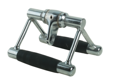 SFE Solid Double D-Handle with rubber handles and swivel