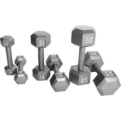 SFE Steel Hex Dumbbells