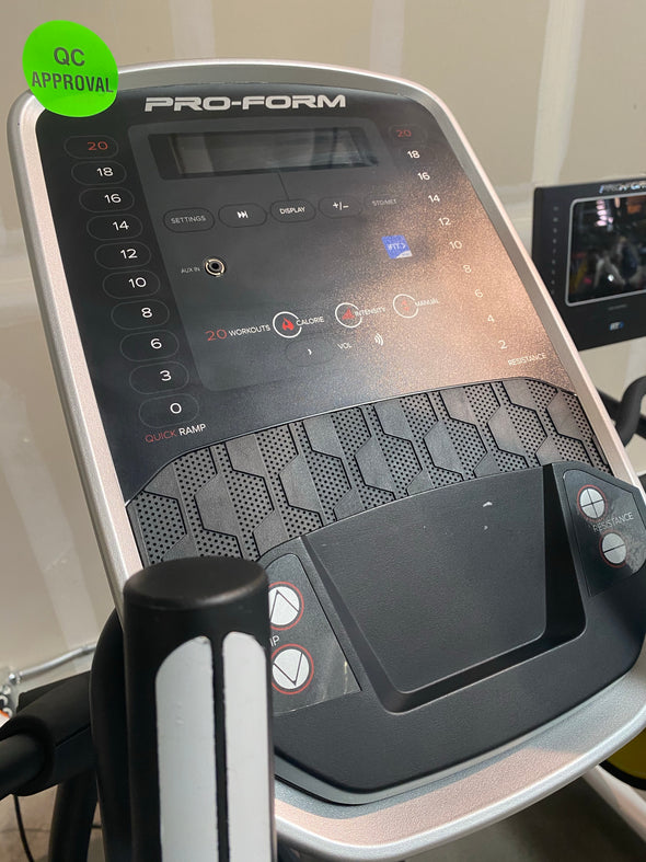 2020 Proform e9.0 Coachlink Elliptical Machine