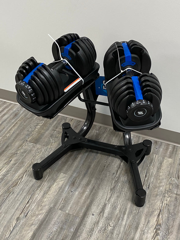 SFE 5-52.5lbs Adjustable Dumbbells and Stand (NEW)