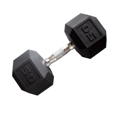 SFE Rubber Hex Dumbbells
