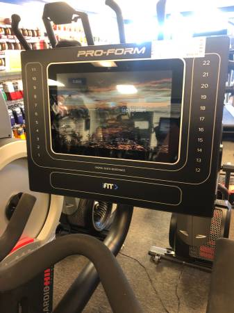 "Proform Studio Bike Pro 10.0 w/ 10"" Screen"