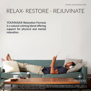 YOUMAXA® Relaxation Formula (Physical and Mental Relaxation Support Supplement)