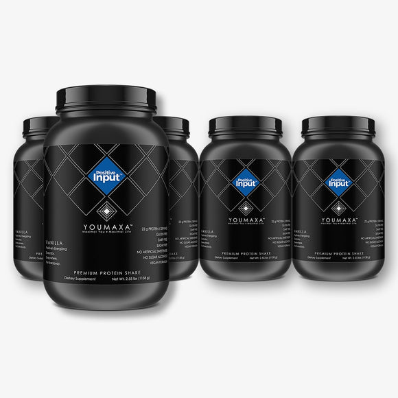 YOUMAXA®  POSITIVE INPUT - Premium Protein Shake - Team Pack  (Bundle Pack)
