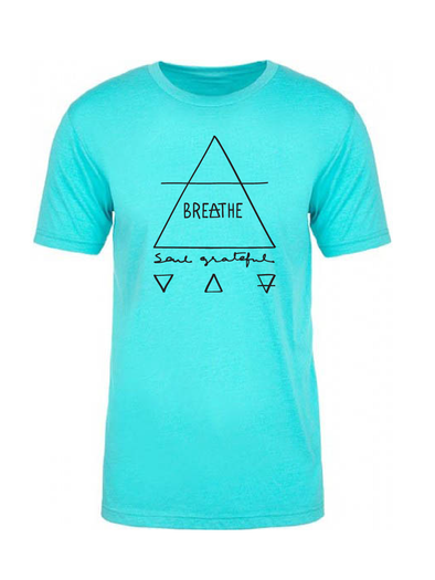 Breathe Soul Grateful Tri-Blend Crew