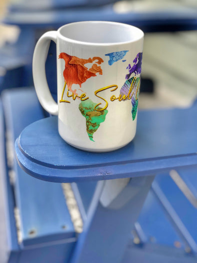Live Soul Grateful Coffee Mug