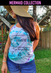 Breathe Soul Grateful Limited Edition Tie Dye Racerback