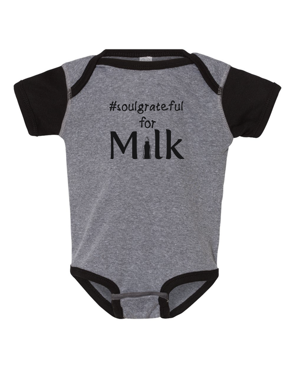 Soul Grateful for Milk Onesie