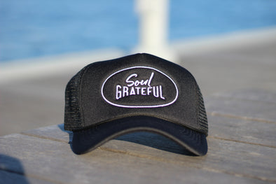 Soul Grateful Foam Trucker Hat (Black)