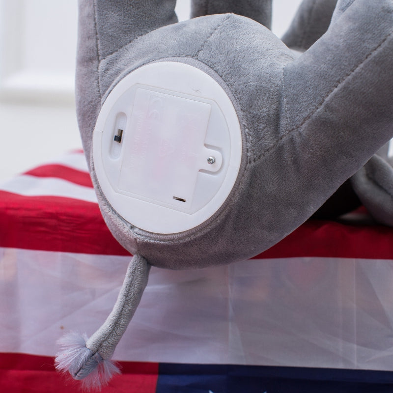 Peek A Boo Plush Elephant