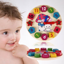 Load image into Gallery viewer, Baby Puzzle Clock