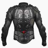Body Armor Motorcycle Jacket (Black or Red)