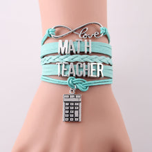 Load image into Gallery viewer, TEACHER INFINITY BRACELET