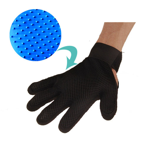 Silicone Pet brush Glove Deshedding Gentle Efficient Pet Grooming Glove Dog Bath Pet cleaning Supplies Pet Glove Dog Accessories
