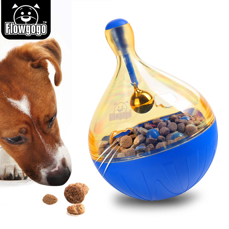 A Flowgogo Pet Toy Ball IQ Treat Ball Interactive Food Dispensing Dog Toy