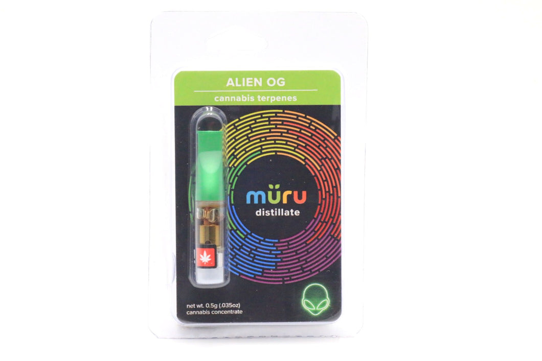 .5g Distillate Cartridge Alien OG