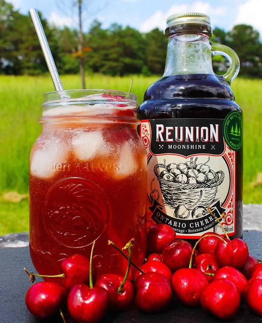 Cherry Moonshine Lemonade