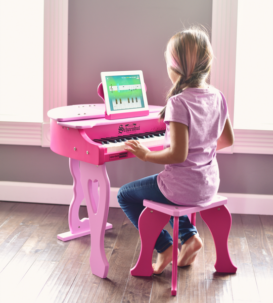 Children Exposed to Music Learn So Much More According to Schoenhut Piano Co.