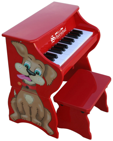 Schoenhut's Toy Piano is Editor's Pick Among Top 5 Toddler Pianos in 2019