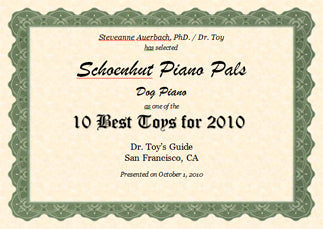 Dr Toy 2010 award